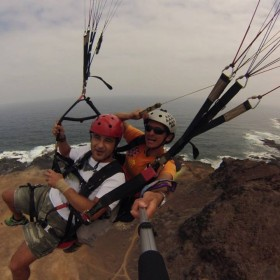 Paragliding whit Fly in Canarias