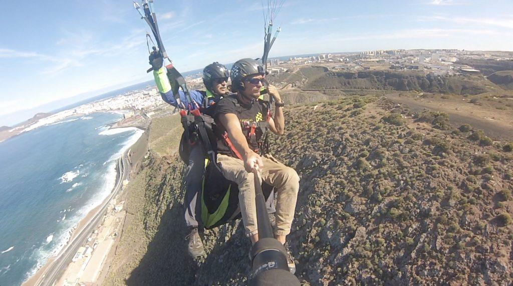 Paragliding tandem course