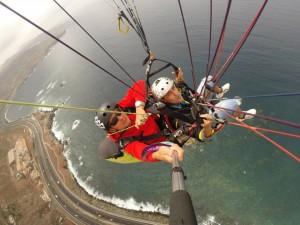 Paragliding in Las Palmas