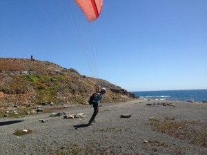 Learn to paraglide in Canary Islands