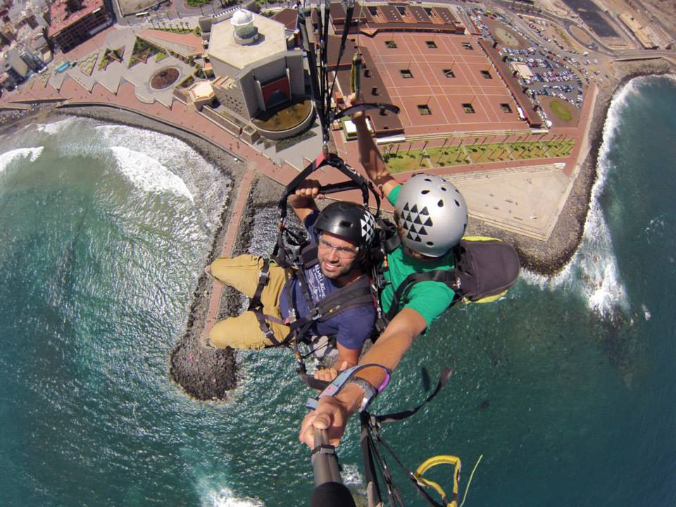 video paragliding Gran Canaria